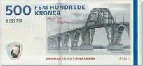 500 Danish krone
