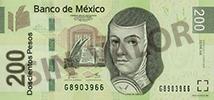 200 Mexico peso