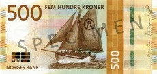 500 Norwegian krone