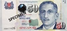 50 Signapore dollar