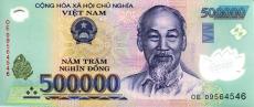 500000 Vietnamese dong