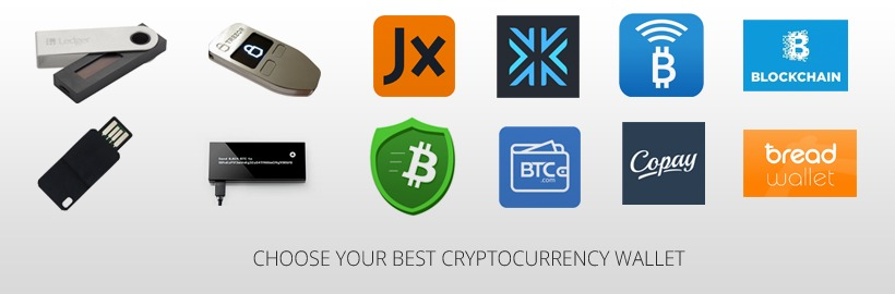 Choose your cryptocurrency wallet