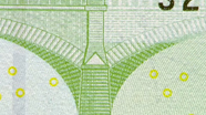 100 eur Microprint view