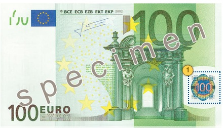 Tilt 100 eur, security features