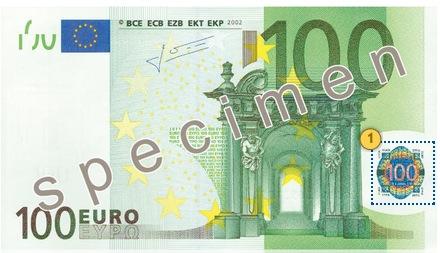 Tilt 100 eur, security features