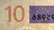 10 eur See-through number changed