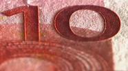 Run your finger across 10 eur number