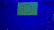 10 eur ultraviolet light flag