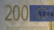 200 eur See-through number
