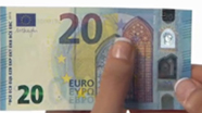 20 eur new raised notes No. 1