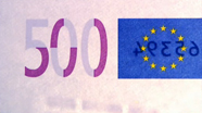 500 eur See-through number