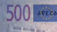 500 eur See-through number changed