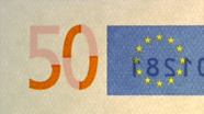 50 eur See-through number changed