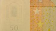 50 eur Watermark sign table