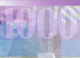1000 Swiss francs Magic number No. 2