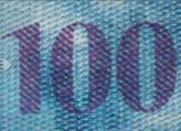 100 Swiss francs chameleon number No.2