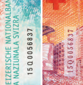 20 new Swiss francs serial number