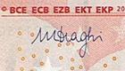 Mario Draghi signature