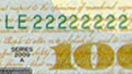 100 USD Serial Numbers
