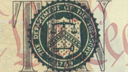 10 USD Treasury Seal