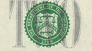 2 USD Treasury Seal