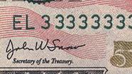 50 USD Serial Numbers